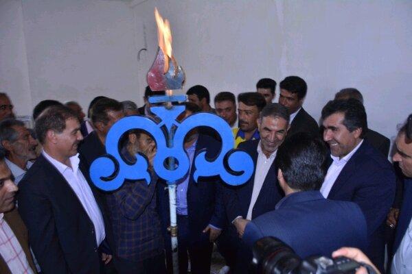 پروژه گازرسانی به ۱۶ روستای شهرستان بویراحمد افتتاح شد
