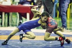 Büyük minikler serbest güreş şampiyonasından kareler
