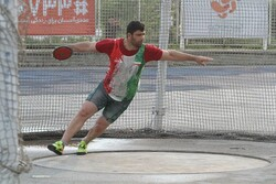 Iranian thrower claims gold at Indian event