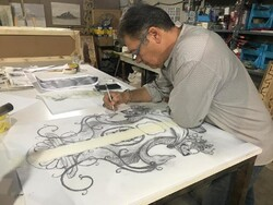 Meet the man whose brain makes him experiencing new forms of arts