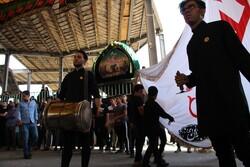 سمنان کے عمرانکو حسینیہ میں مجالس عزا کی تیاریاں