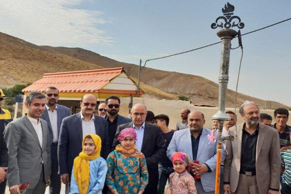 ۳۱ روستای استان قزوین به شبکه گازرسانی پیوست