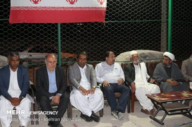 افتتاح و کلنگ زنی چند طرح عمرانی در شهرستان مهرستان