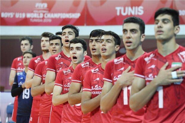 Iran 5th at 2019 FIVB U19 Boys' C'ship