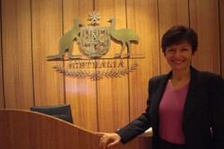 """""""ليندال ساكس"""" سفيرة جديدة لاستراليا في طهران"""