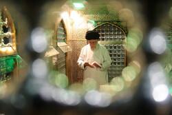 مراسم ازالة الغبار عن مضجع ثامن الائمة (ع) / صور