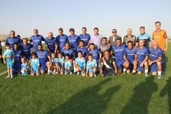 پیشکسوتان استقلال قهرمان جام صلح و دوستی اراک شدند