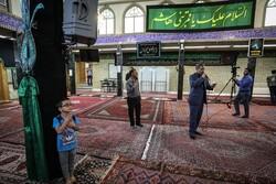 حسینیہ اعظم زنجان میں غبار صاف کرنے کی تقریب منعقد