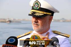 اطلاعات فرمانده نیرو دریایی ارتش درباره محل رزمایش ایران و روسیه