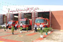 ایستگاه چهارم سازمان آتش نشانی شهرداری ساوه به بهره برداری رسید