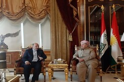 Massoud Barzani stresses full-fledged expansion of KRG relations with Iran