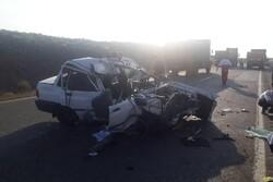 تصادف دو خودرو پراید در الشتر ۷ مجروح برجای گذاشت