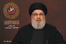 'No more tolerance of Israel over Lebanese airspace': Nasrallah