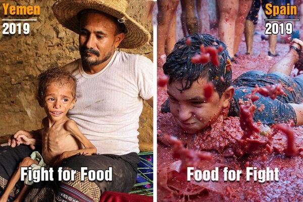 جنگ برای غذا