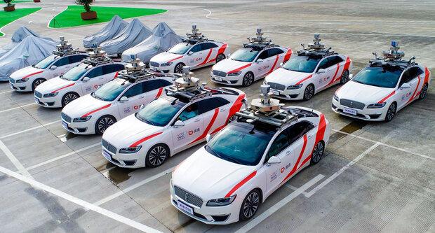 تاکسی خودران در شانگهای آزمایش می شود