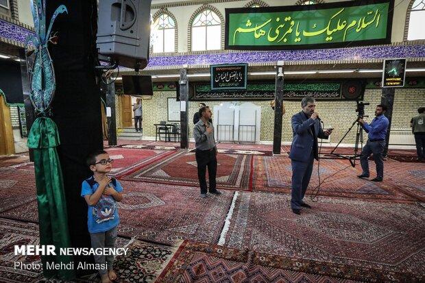 مراسم غبارروبی حسینیه اعظم زنجان در آستانه محرم