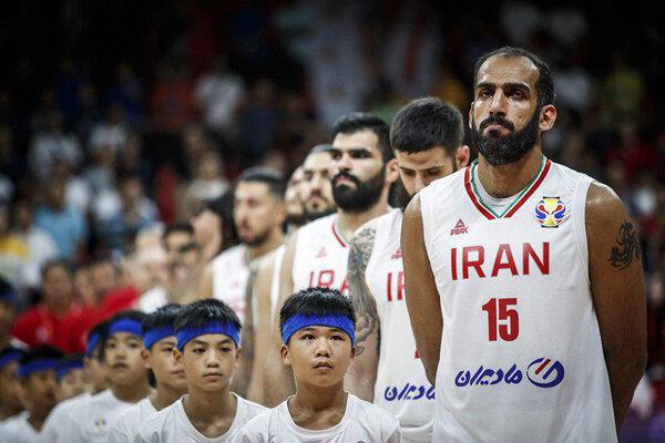 دیدار تیم ملی بسکتبال با ژاپن پیش از المپیک ۲۰۲۰