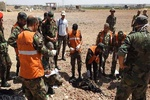 کشف اجساد ۱۷ نظامی سوری که در سال ۲۰۱۵ در خان شیخون کشته شدند