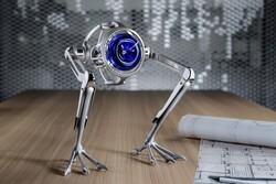 ساعت رباتیکی که جست و خیز میکند
