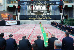 Preparations for Muharram mourning ceremony in Qom