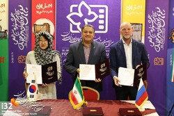 Iran, Russia, S Korea sign cinema agreement