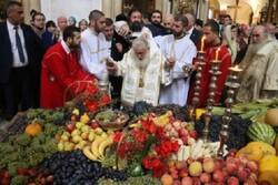 مراسم عید تجلی مسیح در گرجستان برگزار شد