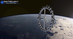 طرح اولیه از هتل فضایی را ببینید/ با گرانشی شبیه ماه