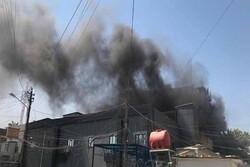سفارت رومانی در بغداد آتش گرفت