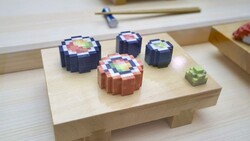 پرینتر سه بعدی سوشی تولید می کند