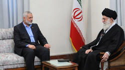 Haniyeh pens letter to Ayt. Khamenei, thanks Iran for supporting Palestinian resistance