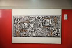 نمایشگاه آثار منتخب سوگواره هنر عاشورایی