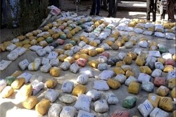 Over 2 tons of narcotics confiscated in Iran's Mirjaveh