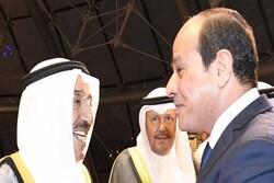 آنچه السیسی در دیدار با امیر کویت گفت