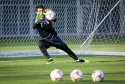 اولین تمرین تیم ملی فوتبال ایران