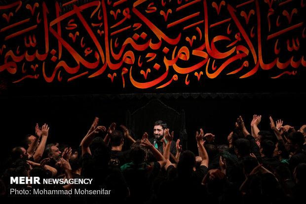 """مراسم عزاء ليلة الاول من محرم لموكب """"ريحانة الحسين"""""""