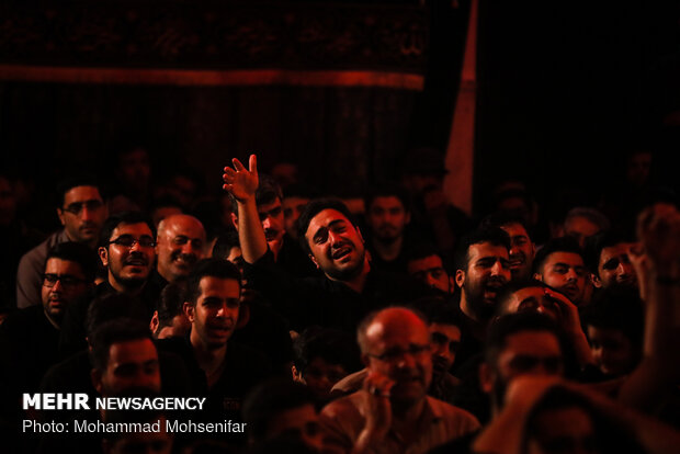Mourning ceremony in 1st night of Muharram