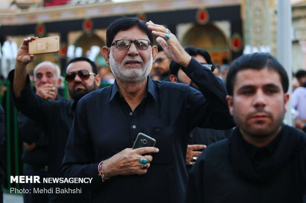 Muharram mourning ceremony in Qom