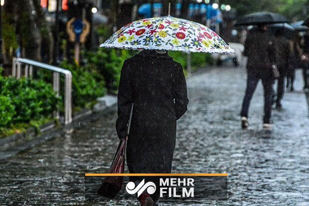VIDEO: Summer rainfall in Mazandaran