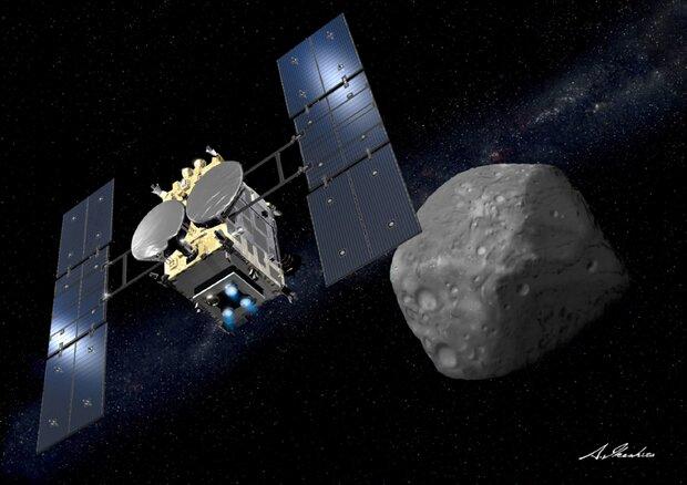کاوشگر ژاپنی نمونه های سیارکی را به زمین می رساند