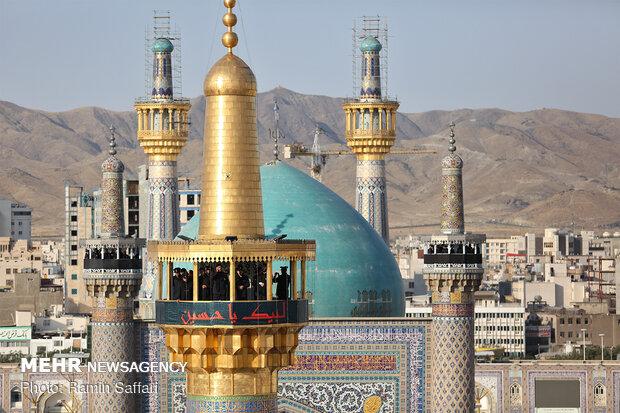 """مراسيم """"صلات"""" في مرقد علي ابن موسى الرضا (ع)"""