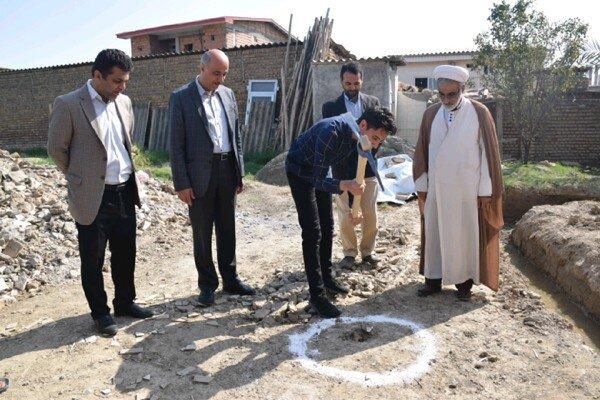 یک واحد مسکونی آسیبدیده از سیل در شهرستان آققلا بازسازی میشود