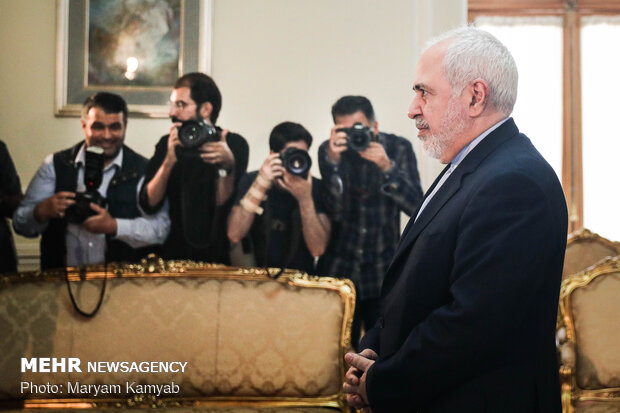 Iran FM's meeting with Yemeni envoy