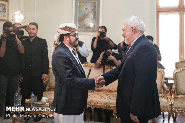 تقدیم استوارنامه سفیر جدید یمن به وزیر امور خارجه