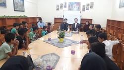 برگزاری نشست کتابخوان ویژه کودکان کار در شیراز