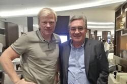 دیدار برانکو ایوانکوویچ با اولیور کان