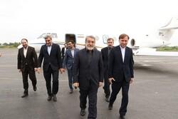 وزیر کشور وارد استان گیلان شد