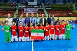 Iranian students win Asian Futsal C'ships