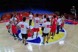 برنامه دیدارهای تیم ملی بسکتبال در گروه بازندهها