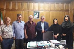 هنرمندان تئاتر با رئیس شورای شهر تهران دیدار کردند