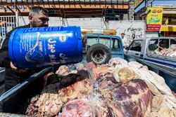طرح برخورد  با متخلفین صنفی در بازار مرغ فروشان شهریار
